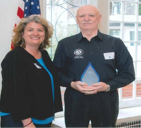 Mr. John Lawless awarded Governor's Volunteer Service Award