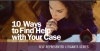 10 Ways to find Help with Your Case